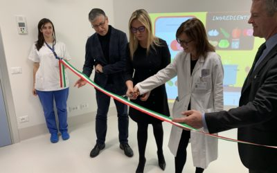 Inauguration of the Nirvana Sensory Room at the Poliambulanza Foundation in Brescia