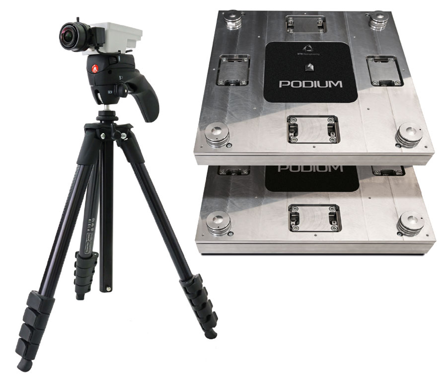 PODIUM sensorized platforms and Vixta camera