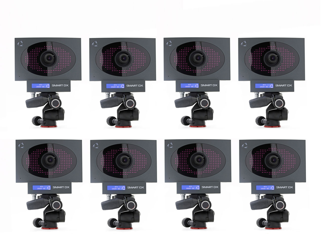 8 telecamere a infrarossi SMART-DX | BTS SPORTLAB componenti